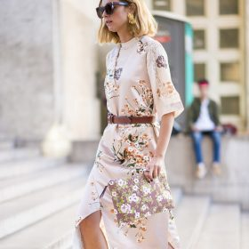 The Floral Midi Dress: wedding ready