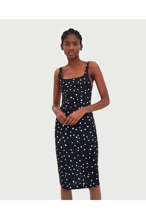 Zara Women Sleeveless Dresses - BASIC SLEEVELESS DRESS
