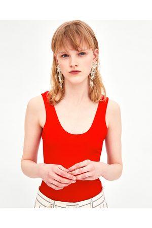 Zara Women Bodies - TEXTURED BODYSUIT