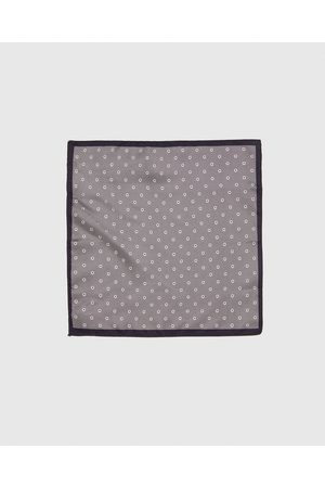 Zara PRINTED POCKET SQUARE WITH BORDER