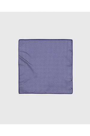 Zara Men Pocket Squares - PRINTED POCKET SQUARE WITH BORDER