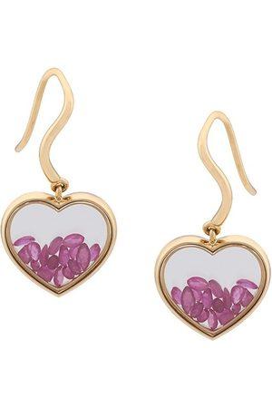 Aurélie Bidermann Chivor' ruby heart earrings