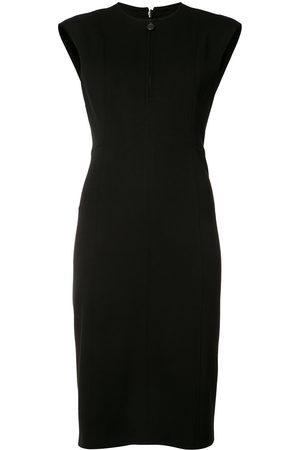 AKRIS Zipped neck dress