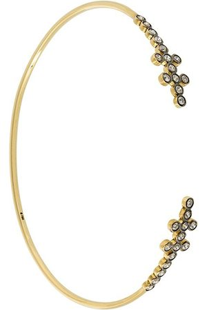 YANNIS SERGAKIS 18kt gold and diamond delicate cuff