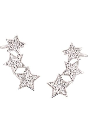 ALINKA Stasia diamond triple star ear cuff