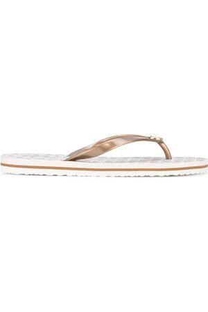 Michael Kors Branded flip flops