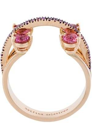 DELFINA DELETTREZ 360 Linked Dots ring
