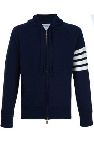 Thom Browne Knitted zip hoodie