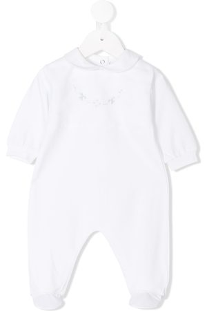 SIOLA Bow embroidered pajamas