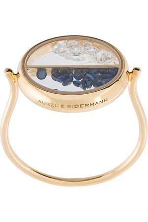 Aurélie Bidermann Chivor diamond and sapphire ring
