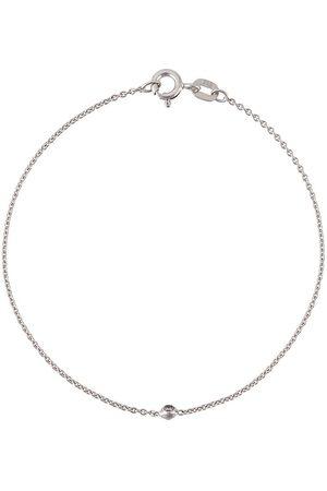 WOUTERS & HENDRIX 18kt white gold single diamond bracelet