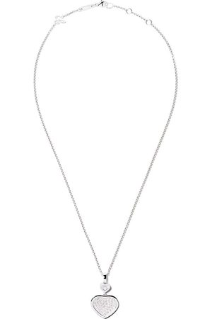 Chopard 18kt Happy Hearts diamond pendant necklace