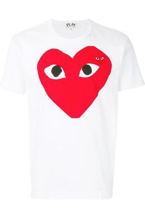 Comme des Garçons Heart print logo T-shirt
