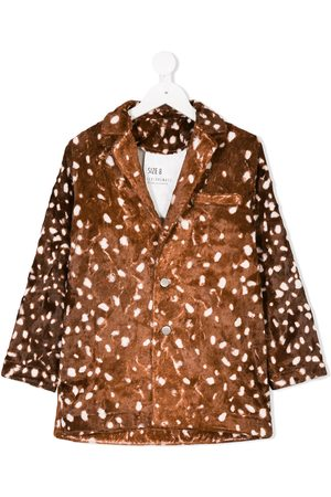 CAROLINE BOSMANS Polka dot patterned jacket