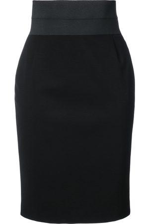 AKRIS Fitted high-waist pencil skirt