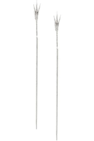 WOUTERS & HENDRIX 18kt gold Crows's Claw long earrings