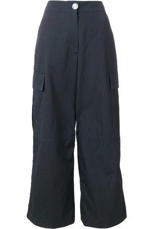 WALK OF SHAME Cargo pocket palazzo trousers