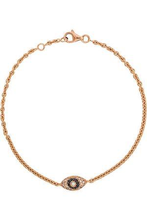 ALINKA Evil Eye 18kt rose gold diamond bracelet