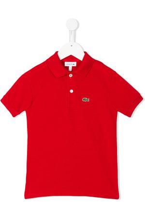 Lacoste Logo embroidery polo shirt