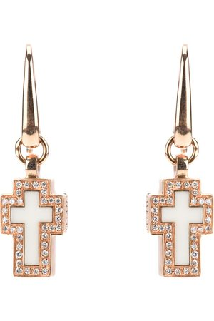 Gavello Cross diamond earrings