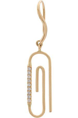 Aurélie Bidermann Diamante paperclip earring