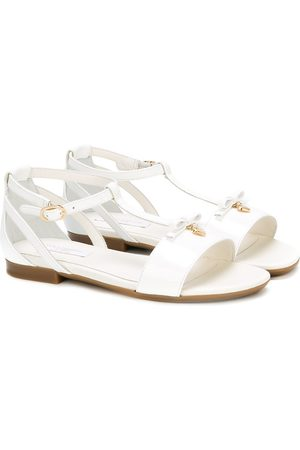 Dolce & Gabbana Strappy flat sandals