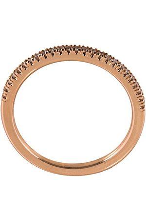 ALINKA 18 kt rose gold diamond pave ring