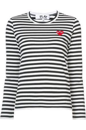 Comme des Garçons Striped long sleeved T-shirt