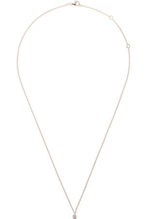 De Beers 18kt My First one diamond pendant necklace