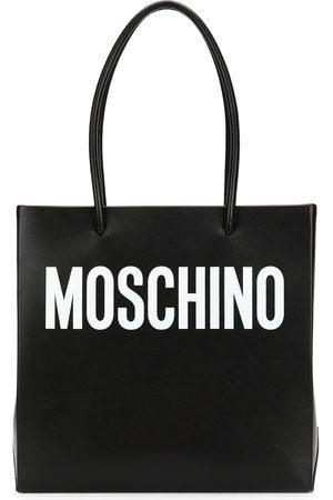 Moschino Square logo shopper tote
