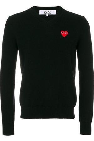 Comme des Garçons Men Jumpers & Sweaters - Heart logo sweater