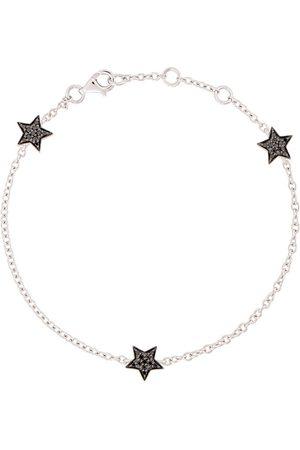 ALINKA 18kt white gold STASIA MINI Triple Star diamond bracelet