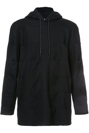 PRIVATE STOCK Pin tuck panelled hoodie