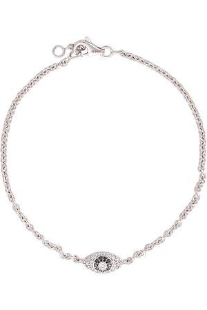 ALINKA Evil Eye 18kt gold diamond bracelet