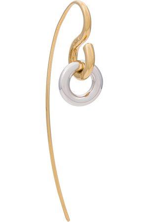 CHARLOTTE CHESNAIS Gold Plated Swing earring