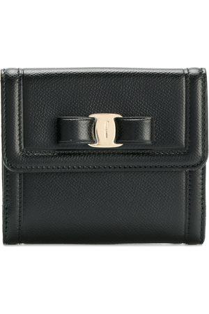 "Salvatore Ferragamo ""vera"" bow compact wallet"