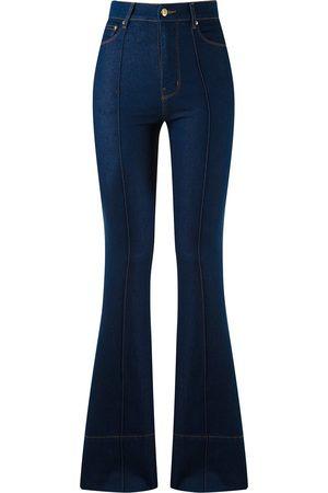 AMAPÔ Women Bootcut & Flares - High waist flared jeans
