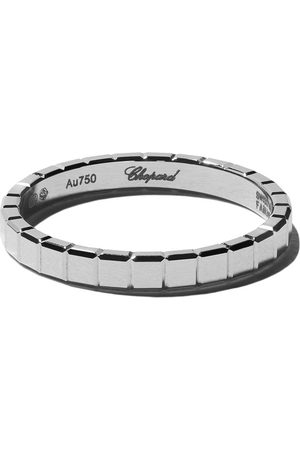 Chopard 18kt white gold Ice Cube Pure ring