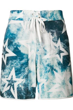Perfect Moment Super Mojo ocean print swim shorts