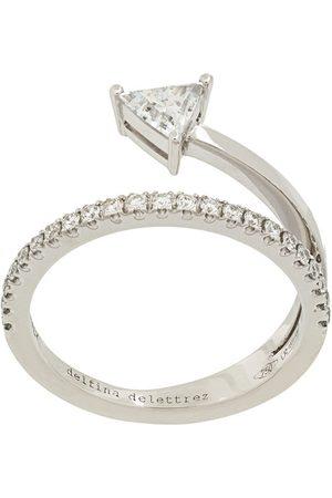 DELFINA DELETTREZ 18kt white gold Marry Me ring