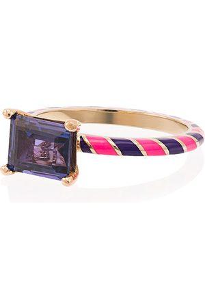 Alice Cicolini Candy Kimono 14kt gold sapphire ring
