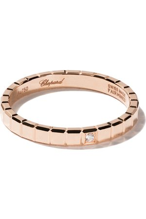 Chopard 18kt rose gold Ice Cube Pure diamond ring