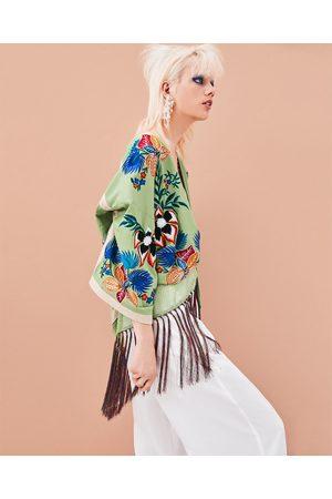 Zara Women Kimonos - PRINTED KIMONO