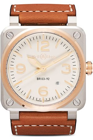 Bell & Ross BR03-92 Steel and Rose Gold 42mm