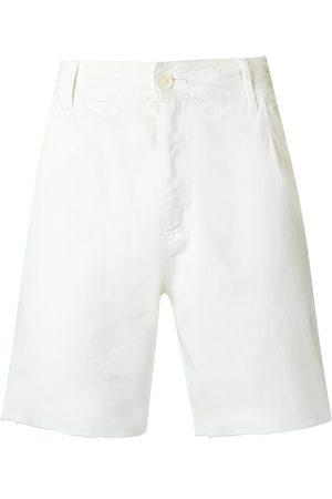 AMIR SLAMA Raw edges shorts