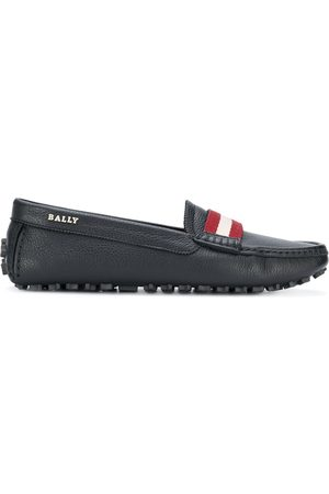 Bally Stripe detail loafers