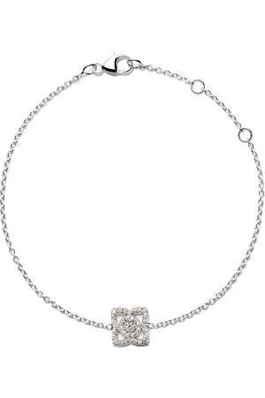 De Beers 18kt Enchanted Lotus One-Motif diamond bracelet