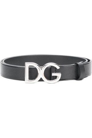 Dolce & Gabbana Men Belts - DG Millennial logo belt
