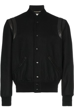 Saint Laurent Varsity wool jacket