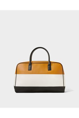Zara COLOUR BLOCK BOWLING BAG